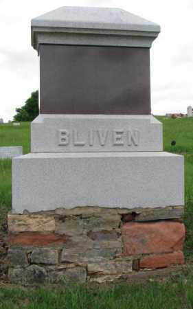 BLIVEN, PLOT - Dakota County, Nebraska | PLOT BLIVEN - Nebraska Gravestone Photos