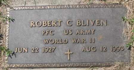 BLIVEN, ROBERT C. - Dakota County, Nebraska | ROBERT C. BLIVEN - Nebraska Gravestone Photos