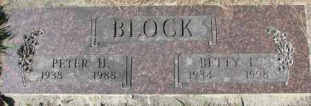 BLOCK, PETER H. - Dakota County, Nebraska | PETER H. BLOCK - Nebraska Gravestone Photos
