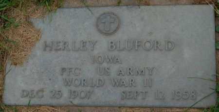 BLUFORD, HERLEY - Dakota County, Nebraska | HERLEY BLUFORD - Nebraska Gravestone Photos