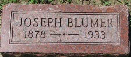 BLUMER, JOSEPH - Dakota County, Nebraska | JOSEPH BLUMER - Nebraska Gravestone Photos