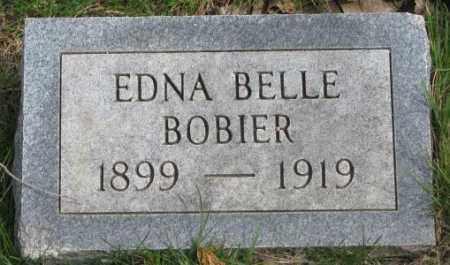 BOBIER, EDNA BELLE - Dakota County, Nebraska | EDNA BELLE BOBIER - Nebraska Gravestone Photos