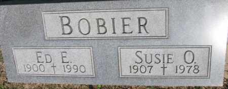 BOBIER, ED E. - Dakota County, Nebraska   ED E. BOBIER - Nebraska Gravestone Photos