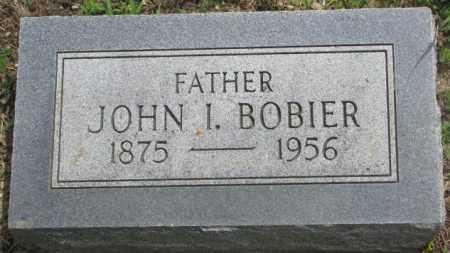 BOBIER, JOHN I. - Dakota County, Nebraska   JOHN I. BOBIER - Nebraska Gravestone Photos