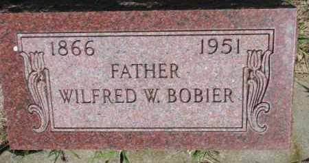 BOBIER, WILFRED W. - Dakota County, Nebraska | WILFRED W. BOBIER - Nebraska Gravestone Photos