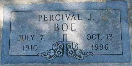 BOE, PERCIVAL J. - Dakota County, Nebraska | PERCIVAL J. BOE - Nebraska Gravestone Photos