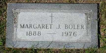 BOLER, MARGARET J. - Dakota County, Nebraska | MARGARET J. BOLER - Nebraska Gravestone Photos