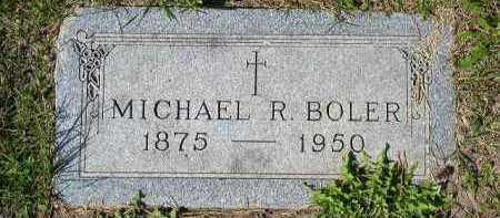 BOLER, MICHAEL R. - Dakota County, Nebraska | MICHAEL R. BOLER - Nebraska Gravestone Photos