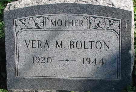 BOLTON, VERA M. - Dakota County, Nebraska | VERA M. BOLTON - Nebraska Gravestone Photos