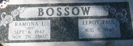 BOSSOW, LEROY PAUL - Dakota County, Nebraska   LEROY PAUL BOSSOW - Nebraska Gravestone Photos