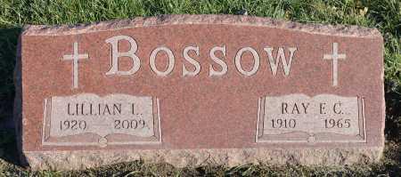 BOSSOW, RAY F.C. - Dakota County, Nebraska   RAY F.C. BOSSOW - Nebraska Gravestone Photos