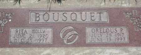 BOUSQUET, RITA MOLLY - Dakota County, Nebraska | RITA MOLLY BOUSQUET - Nebraska Gravestone Photos