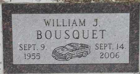 BOUSQUET, WILLIAM J. - Dakota County, Nebraska | WILLIAM J. BOUSQUET - Nebraska Gravestone Photos