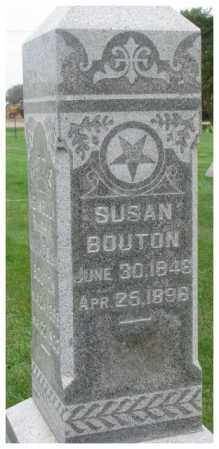 BOUTON, SUSAN - Dakota County, Nebraska | SUSAN BOUTON - Nebraska Gravestone Photos