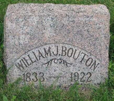 BOUTON, WILLIAM J. - Dakota County, Nebraska | WILLIAM J. BOUTON - Nebraska Gravestone Photos