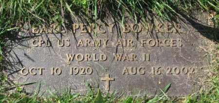 BOWKER, CARL PERCY - Dakota County, Nebraska | CARL PERCY BOWKER - Nebraska Gravestone Photos