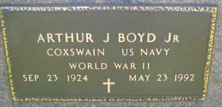 BOYD, ARTHUR J. (WW II MARKER) - Dakota County, Nebraska | ARTHUR J. (WW II MARKER) BOYD - Nebraska Gravestone Photos