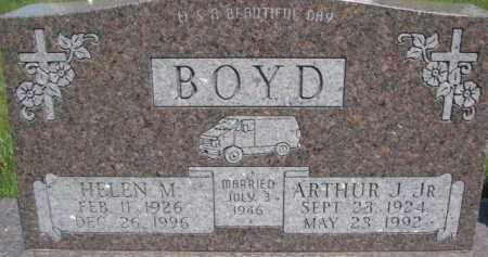 BOYD, ARTHUR J. JR. - Dakota County, Nebraska | ARTHUR J. JR. BOYD - Nebraska Gravestone Photos