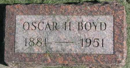 BOYD, OSCAR H. - Dakota County, Nebraska | OSCAR H. BOYD - Nebraska Gravestone Photos