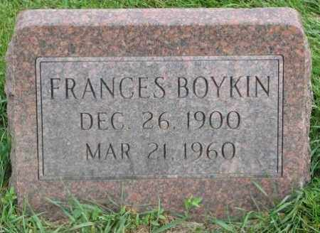 BOYKIN, FRANCES - Dakota County, Nebraska | FRANCES BOYKIN - Nebraska Gravestone Photos