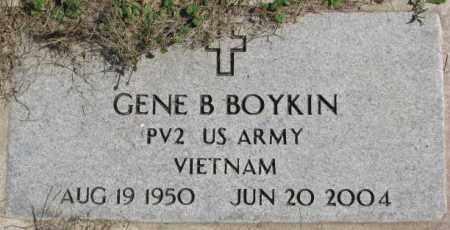 BOYKIN, GENE B. - Dakota County, Nebraska | GENE B. BOYKIN - Nebraska Gravestone Photos