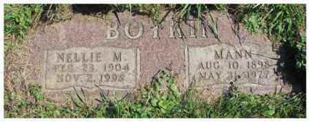 BOYKIN, MANN - Dakota County, Nebraska   MANN BOYKIN - Nebraska Gravestone Photos