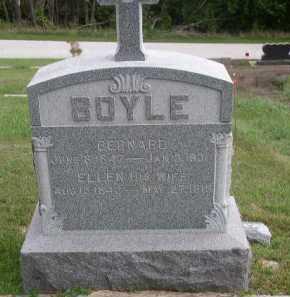 BOYLE, BERNARD - Dakota County, Nebraska | BERNARD BOYLE - Nebraska Gravestone Photos