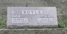 BOYLE, GEORGE J. - Dakota County, Nebraska | GEORGE J. BOYLE - Nebraska Gravestone Photos