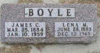 BOYLE, LENA M. - Dakota County, Nebraska | LENA M. BOYLE - Nebraska Gravestone Photos