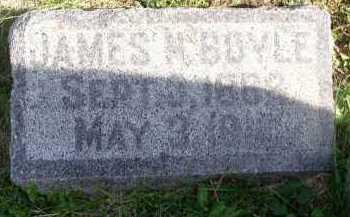 BOYLE, JAMES - Dakota County, Nebraska | JAMES BOYLE - Nebraska Gravestone Photos