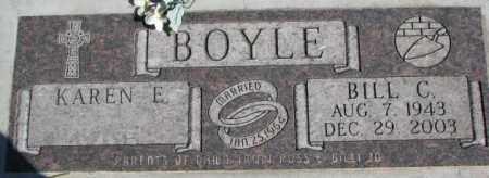 BOYLE, BILL C. - Dakota County, Nebraska | BILL C. BOYLE - Nebraska Gravestone Photos