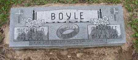 BOYLE, MARGARET - Dakota County, Nebraska | MARGARET BOYLE - Nebraska Gravestone Photos
