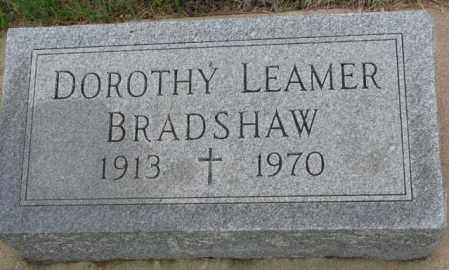 BRADSHAW, DOROTHY - Dakota County, Nebraska | DOROTHY BRADSHAW - Nebraska Gravestone Photos