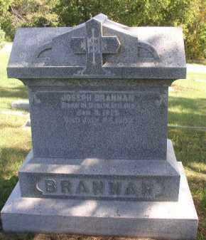 BRANNAN, JOHN W. - Dakota County, Nebraska | JOHN W. BRANNAN - Nebraska Gravestone Photos