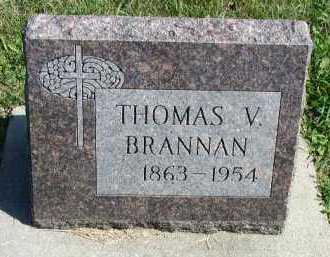 BRANNAN, THOMAS V. - Dakota County, Nebraska | THOMAS V. BRANNAN - Nebraska Gravestone Photos