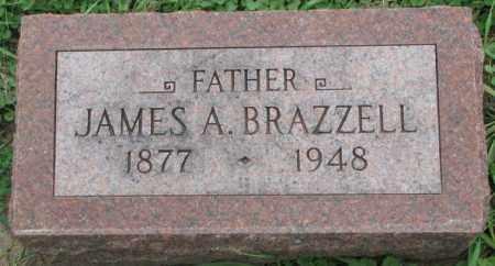 BRAZZELL, JAMES A. - Dakota County, Nebraska | JAMES A. BRAZZELL - Nebraska Gravestone Photos