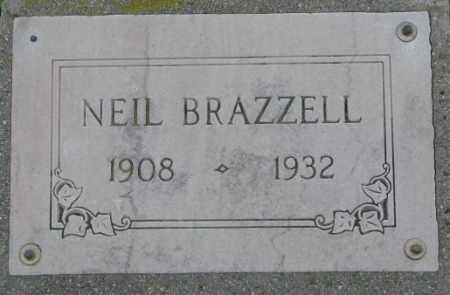 BRAZZELL, NEIL - Dakota County, Nebraska | NEIL BRAZZELL - Nebraska Gravestone Photos