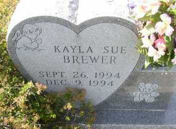 BREWER, KAYLA SUE - Dakota County, Nebraska | KAYLA SUE BREWER - Nebraska Gravestone Photos