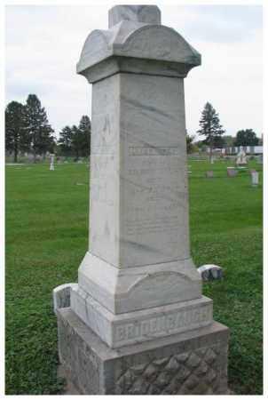 BRIDENBAUGH, MARGARET E. - Dakota County, Nebraska | MARGARET E. BRIDENBAUGH - Nebraska Gravestone Photos