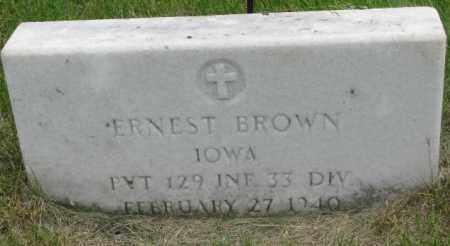 BROWN, ERNEST - Dakota County, Nebraska   ERNEST BROWN - Nebraska Gravestone Photos