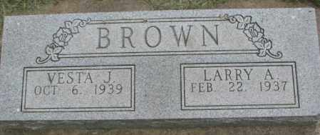 BROWN, VESTA J. - Dakota County, Nebraska | VESTA J. BROWN - Nebraska Gravestone Photos