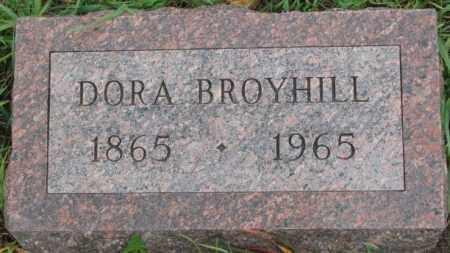 BROYHILL, DORA - Dakota County, Nebraska   DORA BROYHILL - Nebraska Gravestone Photos
