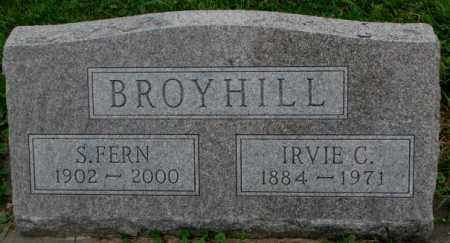 BROYHILL, IRVIE C. - Dakota County, Nebraska | IRVIE C. BROYHILL - Nebraska Gravestone Photos