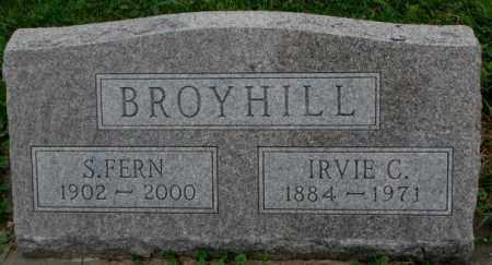 BROYHILL, S. FERN - Dakota County, Nebraska | S. FERN BROYHILL - Nebraska Gravestone Photos