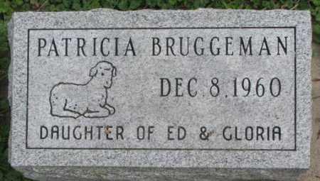 BRUGGEMAN, PATRICIA - Dakota County, Nebraska | PATRICIA BRUGGEMAN - Nebraska Gravestone Photos