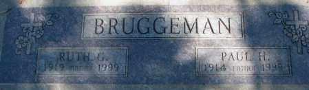 BRUGGEMAN, RUTH G. - Dakota County, Nebraska | RUTH G. BRUGGEMAN - Nebraska Gravestone Photos