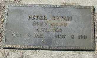BRYAN, PETER - Dakota County, Nebraska | PETER BRYAN - Nebraska Gravestone Photos