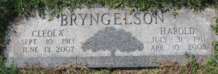 BRYNGELSON, CLEOLA - Dakota County, Nebraska   CLEOLA BRYNGELSON - Nebraska Gravestone Photos