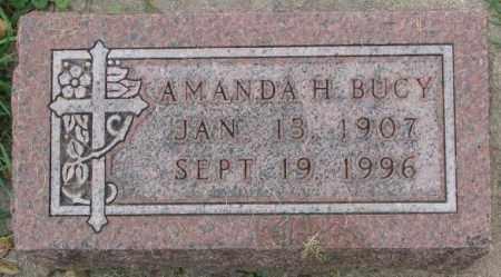 BUCY, AMANDA H. - Dakota County, Nebraska   AMANDA H. BUCY - Nebraska Gravestone Photos