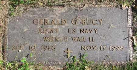 BUCY, GERALD G. - Dakota County, Nebraska | GERALD G. BUCY - Nebraska Gravestone Photos